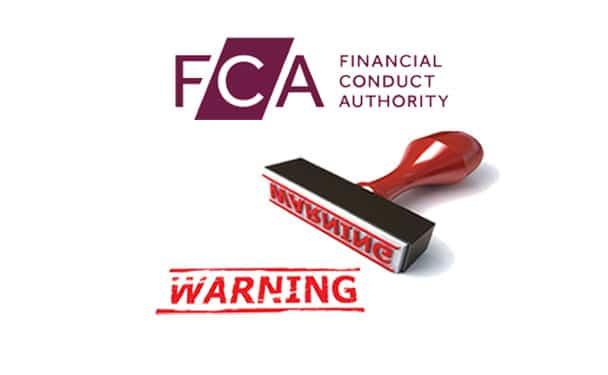 FCA-warning